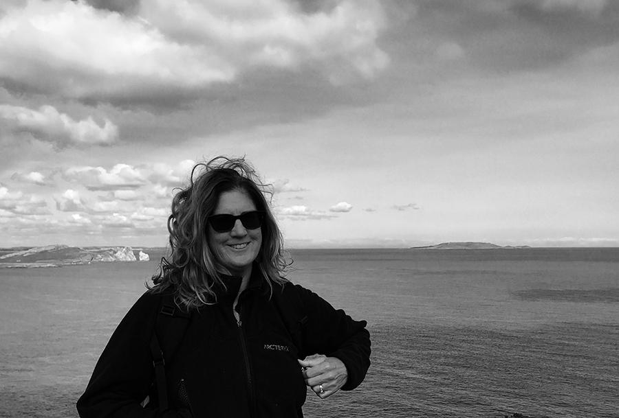 Maura Conlon-McIvor at coast