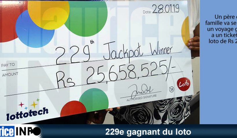 229e gagnant du loto