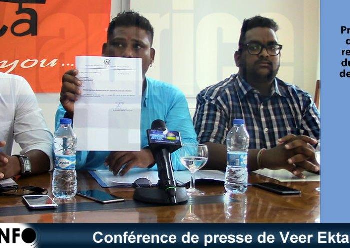 Conférence de presse de Veer Ekta