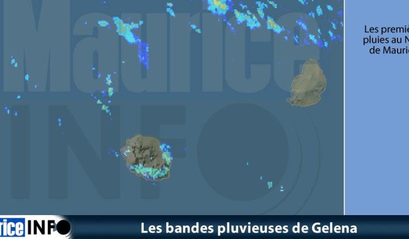 Les bandes pluvieuses de Gelena