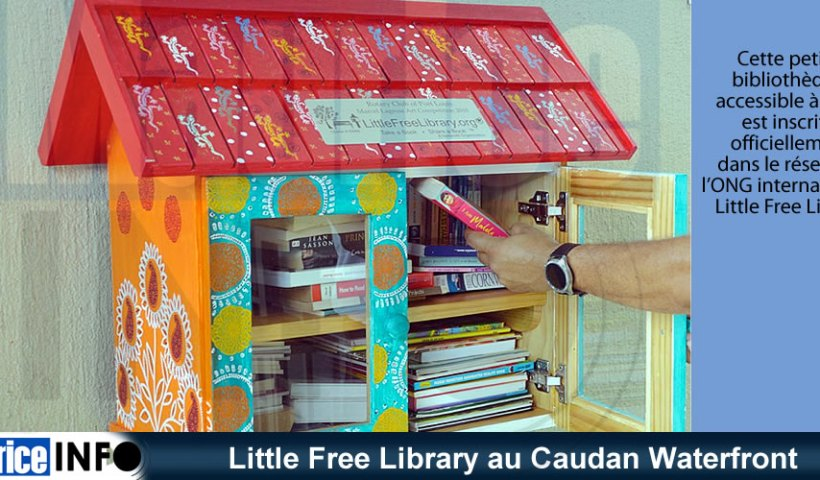 Little Free Library au Caudan Waterfront
