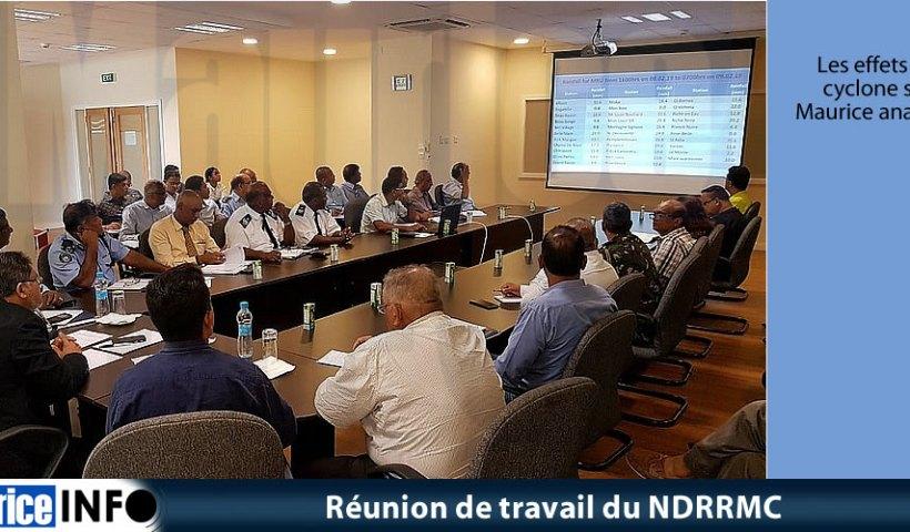 Réunion de travail du NDRRMC