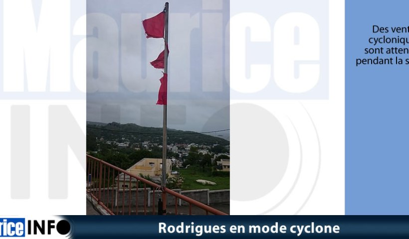 Rodrigues en mode cyclone