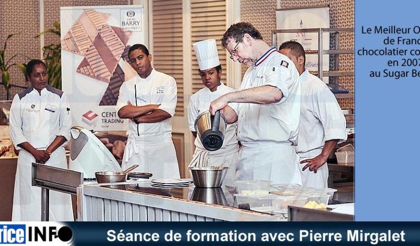 Séance de formation avec Pierre Mirgalet
