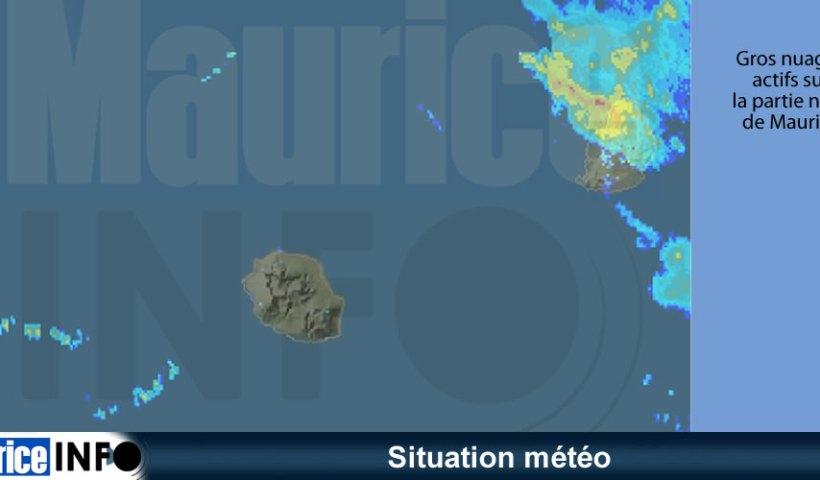 Situation météo 12h45 17 Fev 2019
