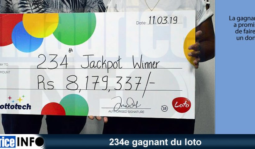 234e gagnant du loto