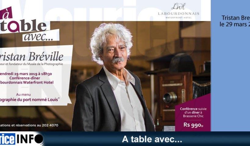 A table avec Tristan Bréville