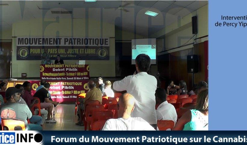 Forum du Mouvement Patriotique sur le Cannabis