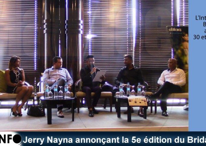 Jerry Nayna annonçant la 5e édition du Bridal Show
