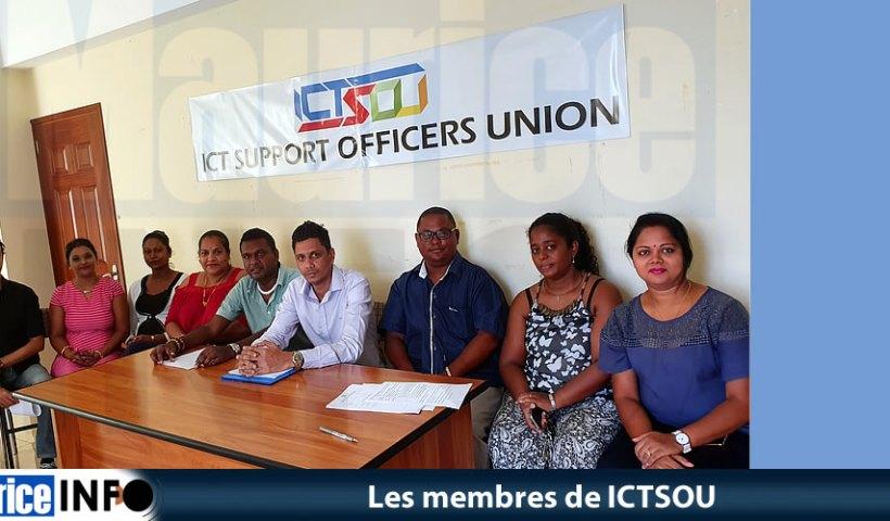 Les membres de l' ICTSOU