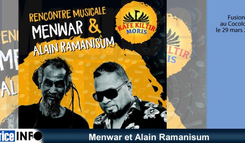 Menwar et Alain Ramanisum