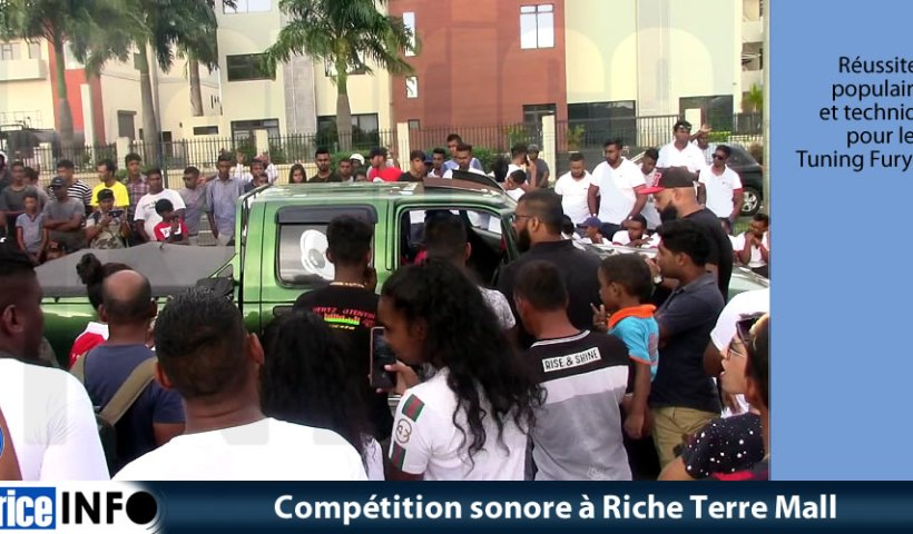 Compétition sonore à Riche Terre Mall