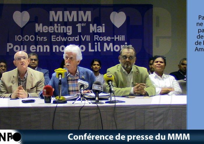 Conférence de presse du MMM du 20 AVril 2019