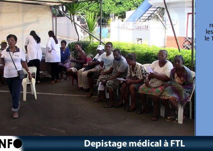 Dépistage médical à FTL