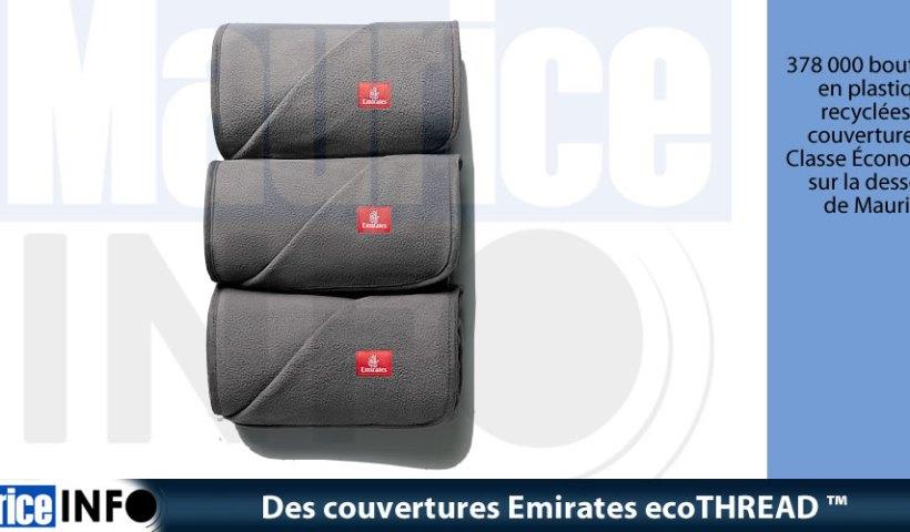 Des couvertures Emirates ecoTHREAD