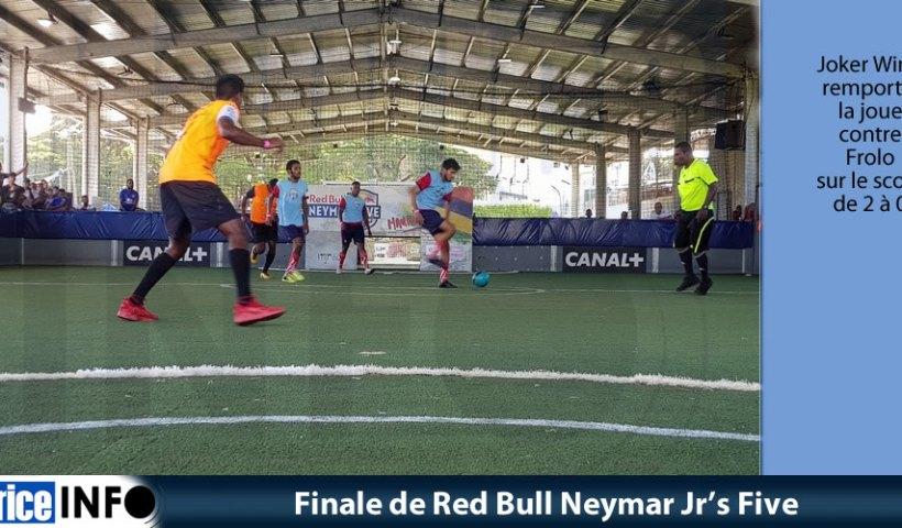 Finale de Red Bull Neymar Jr's Five