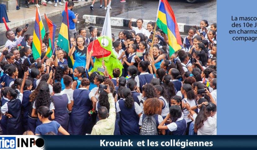Krouink et les collégiennes