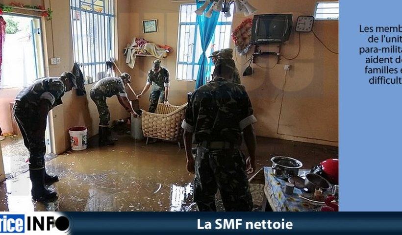 La SMF nettoie © NEOC/NDRRMC