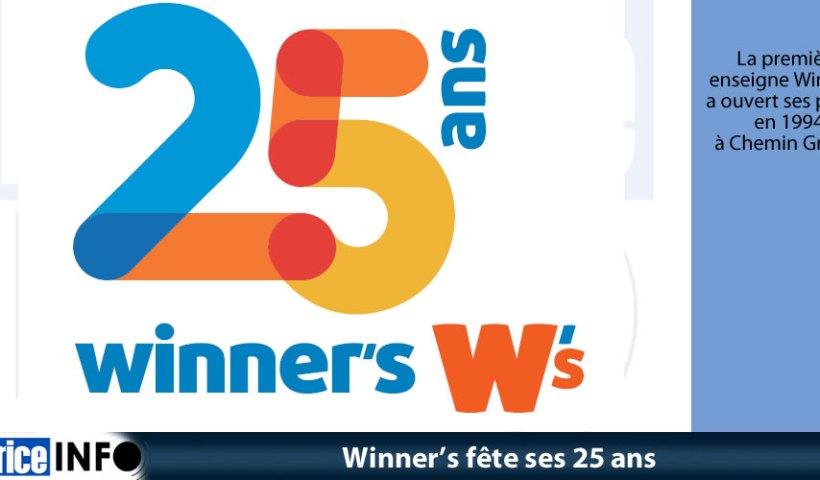 Winner fête ses 25 ans