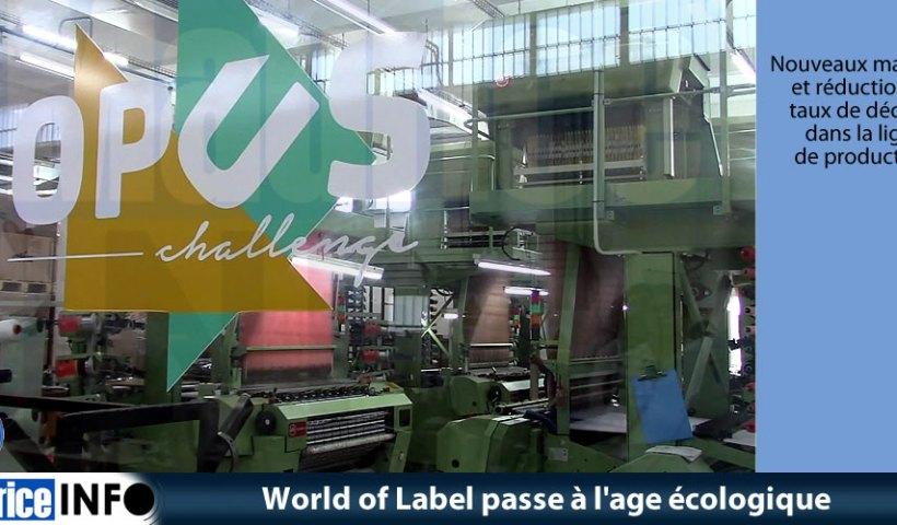 World of Label passe à l'age écologique