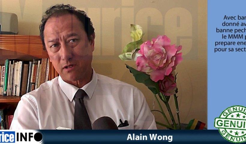 Alain Wong a dit