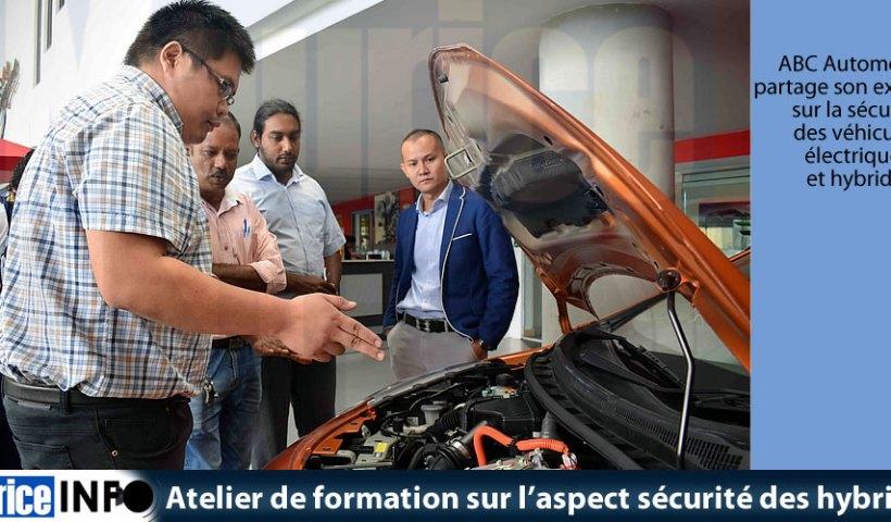 Atelier de formation sur aspect sécurité des hybrides