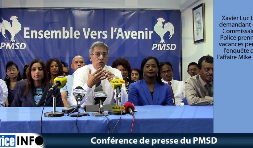 Conférence de presse du PMSD du 18 Mai 2019