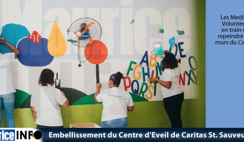 Embellissement du Centre Eveil de Caritas St Sauveur