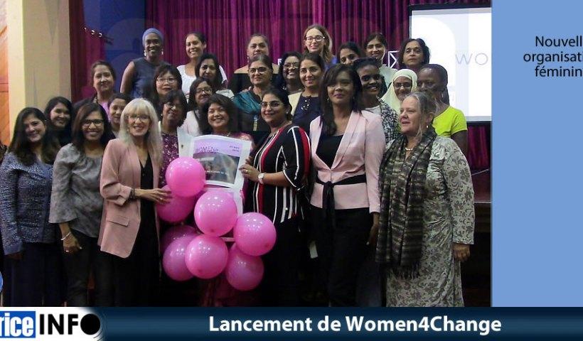 Lancement de Women4Change