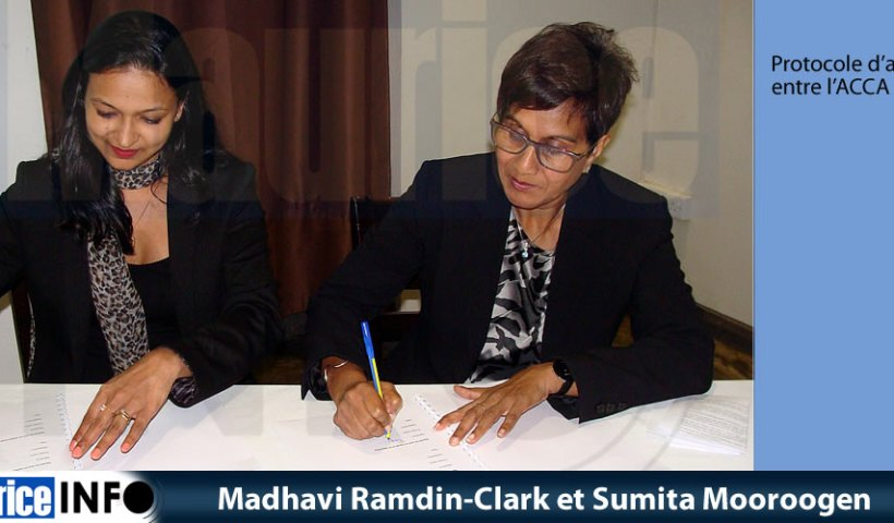 Madhavi Ramdin-Clark et Sumita Mooroogen