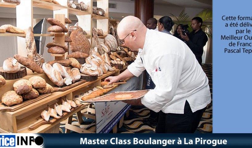 Master Class Boulanger à La Pirogue