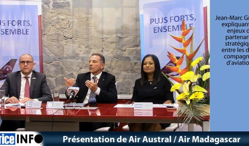 Présentation de Air Austral- Air Madagascar