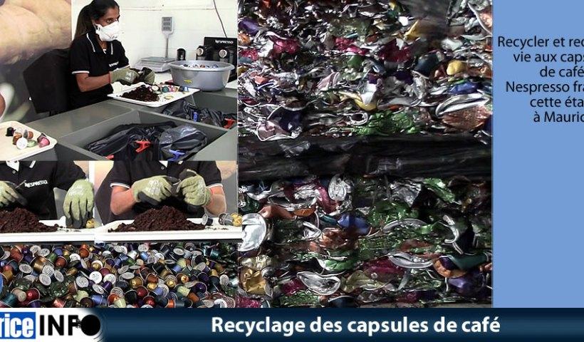 Recyclage des capsules de café