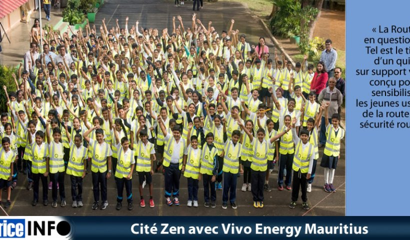Cité Zen avec Vivo Energy Mauritius