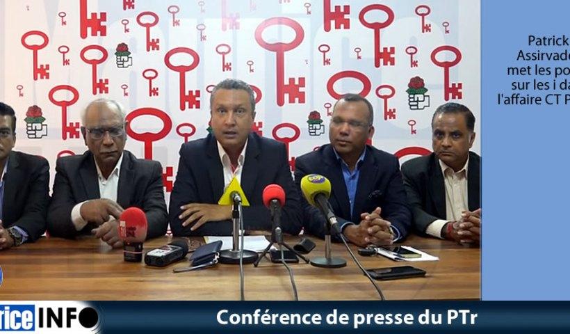Conférence de presse du Ptr du 13 Juin 2019