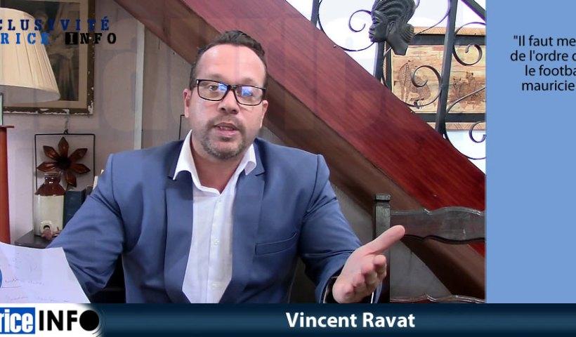 Déclaration de Vincent Ravat