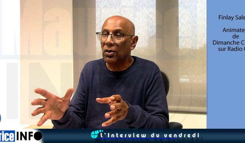 L'Interview du vendredi de Finlay Salesse