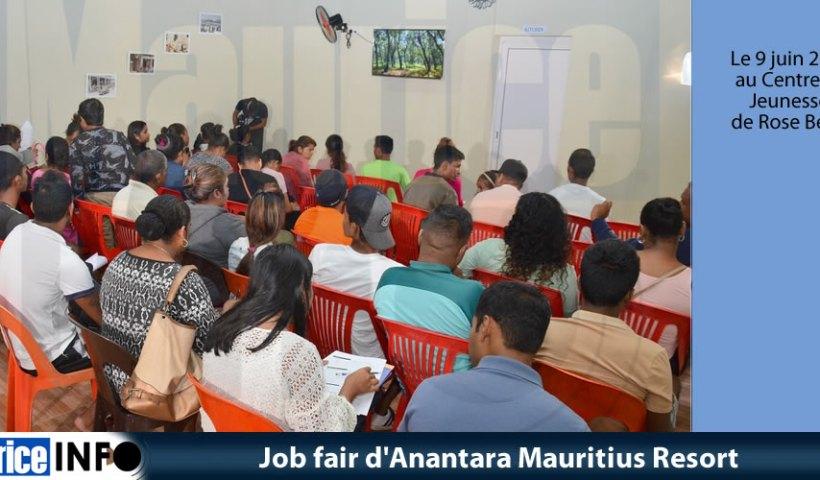 Job fair d'Anantara Mauritius Resort