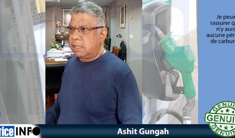 Ashit Gungah a dit