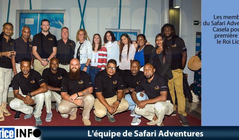 L'équipe de Safari Adventures