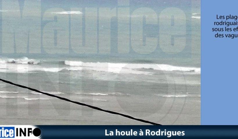 La houle à Rodrigues