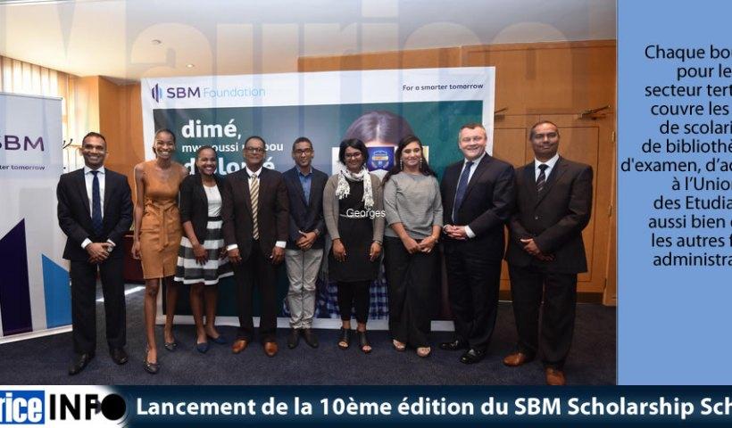 Lancement de la 10ème édition du SBM Scholarship Scheme