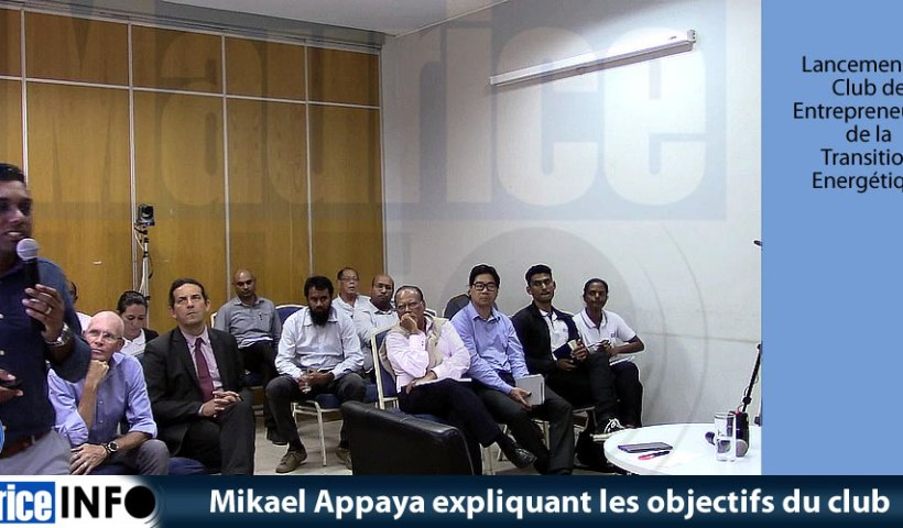 Mikael Appaya expliquant les objectifs du club