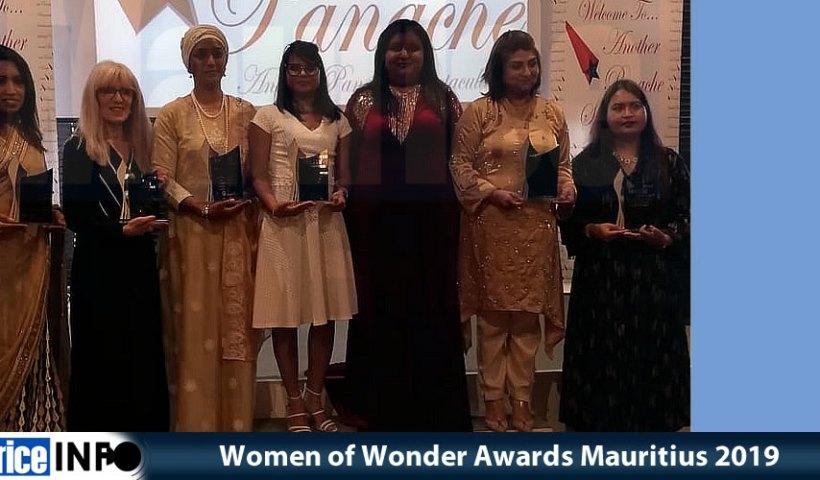 Women of Wonder Awards Mauritius 2019