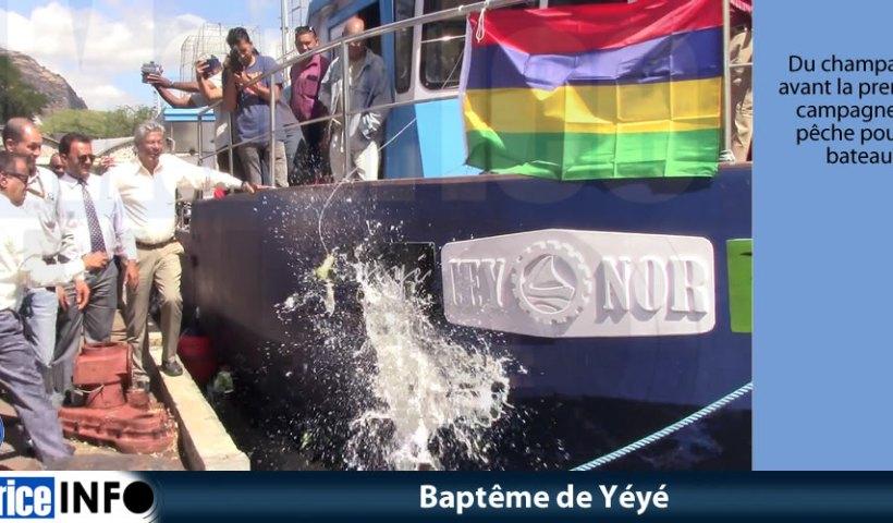 Baptême de Yéyé