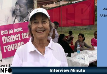 Interview Minute d'Audrey Hardy APSA International.