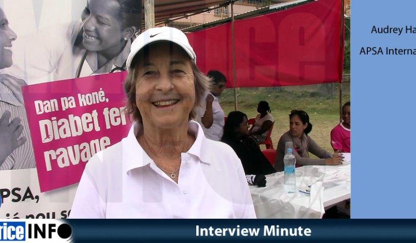 Interview Minute d'Audrey Hardy APSA International.