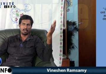 Interview Minute Vineshen Ramsamy