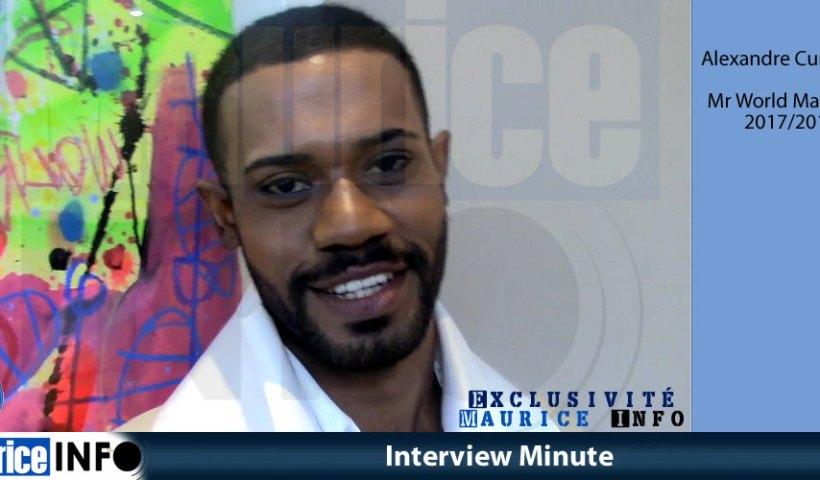 Interview Minute d'Alexandre Curpanen