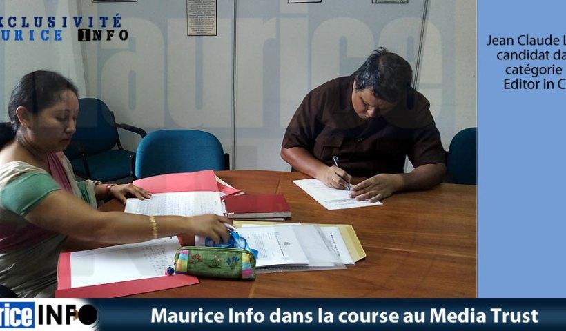 Maurice Info dans la course au Media Trust